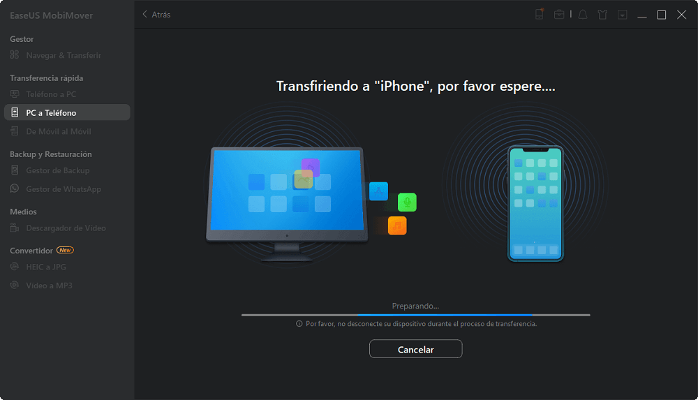 como pasar musica del pc al iphone 5 sin itunes