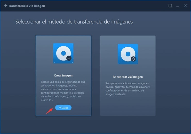 Crear copia de seguridad de los programas instalados en Windows 10.